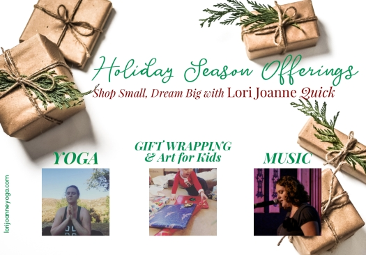 holiday shop yoga gifts music
