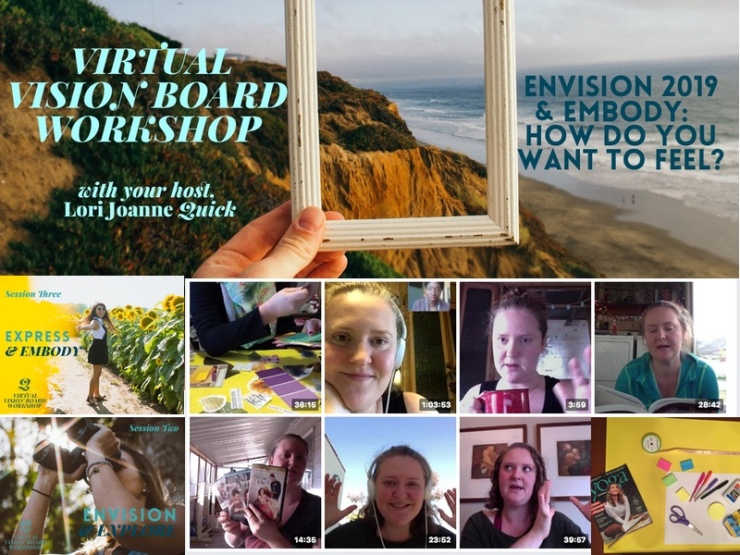 visionboard overview